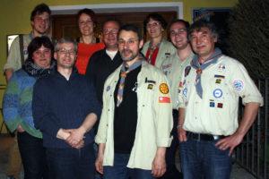 Das Vorstandsteam bei der Gründerversammlung